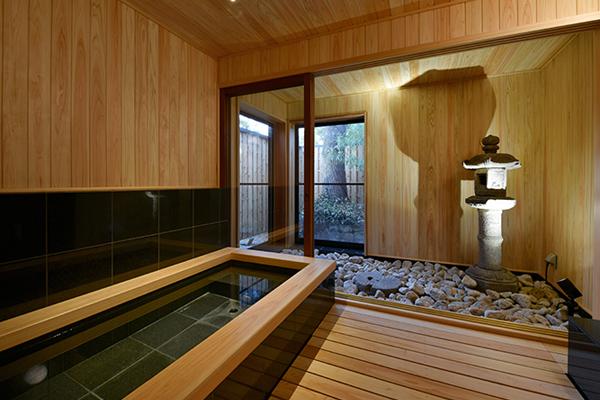 「竹林月夜」浴室